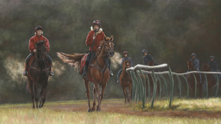 On Top Of Warren Hill by Mary Herbert
